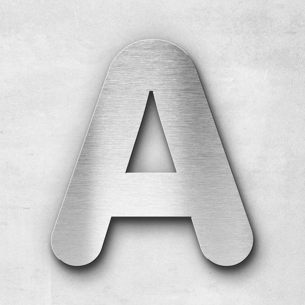 Metal Letter A Uppercase - Classic Series