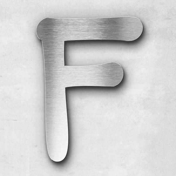 Metal letter F - Series Malta