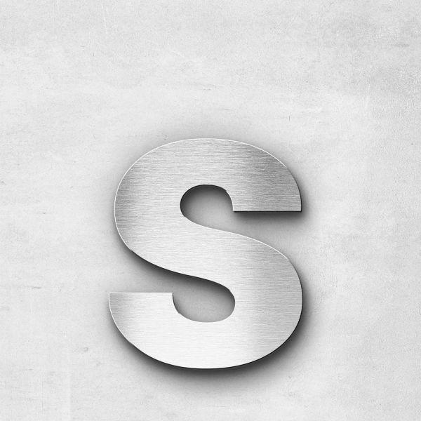 Metal Letter s Lowercase - Sans Series