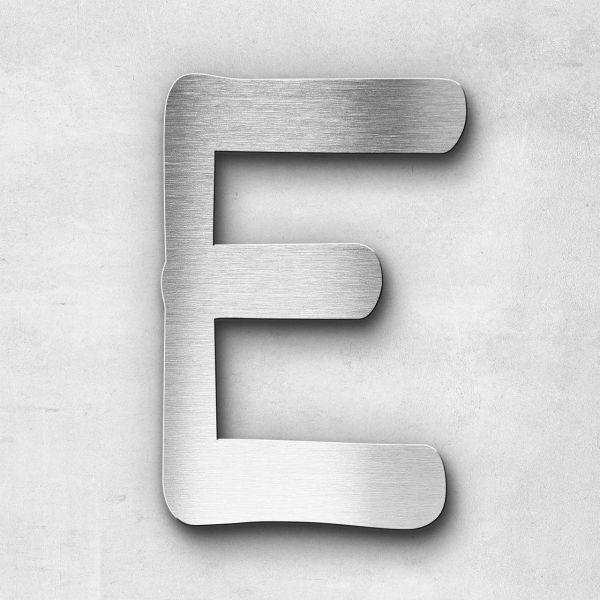 Metal Letter E Uppercase - Malta Series