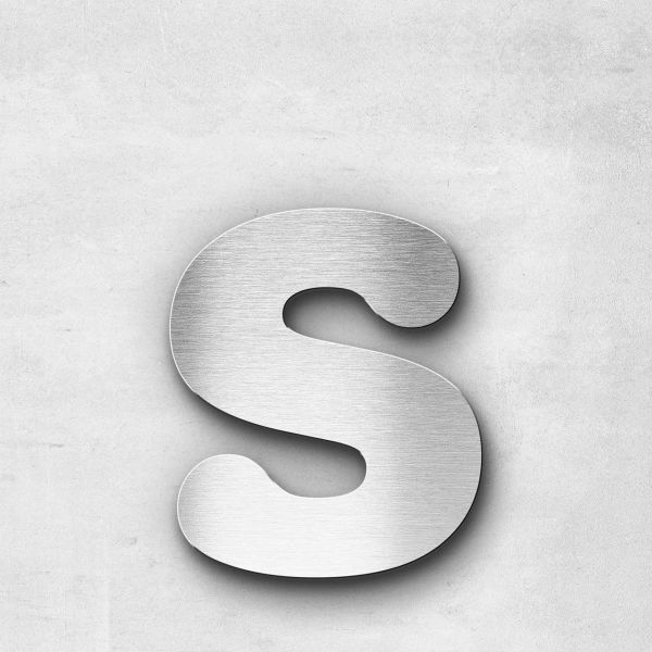 Metal Letter s Lowercase - Classic Series