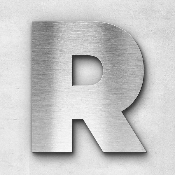 Metal Letter R Uppercase - Kontrast Series