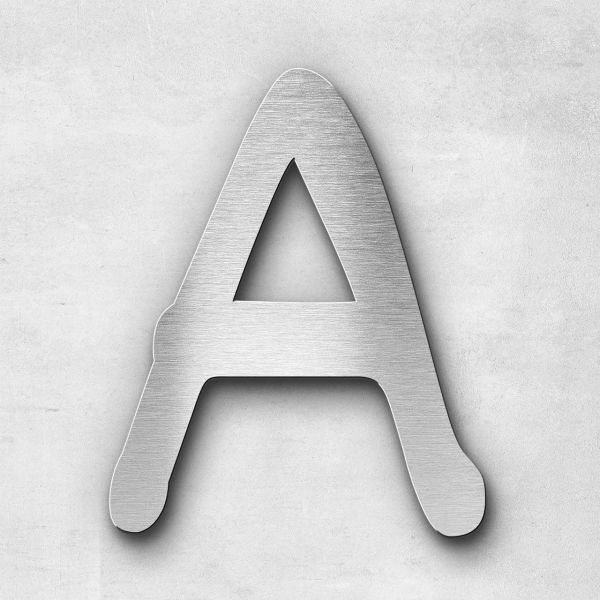 Metal Letter A Uppercase - Malta Series