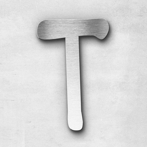 Metal Letter T Uppercase - Malta Series