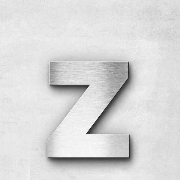 Metal Letter z Lowercase - Sans Series