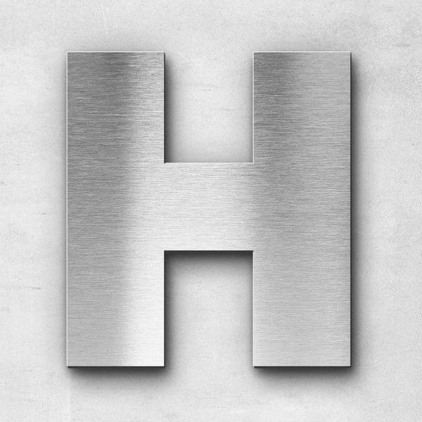 Metal Letter H Uppercase - Kontrast Series