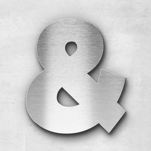 Metal Letter Ampersand Special Character - Kontrast Series