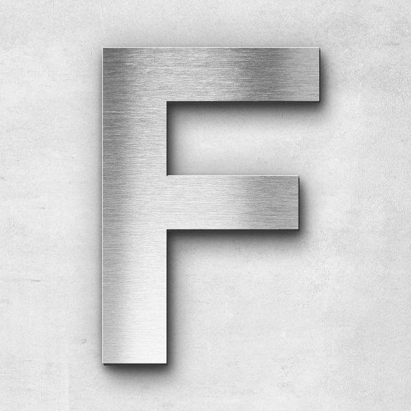 Metal letter F - Series Arial