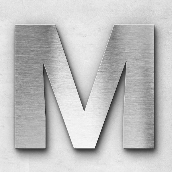 Metal Letter M Uppercase - Sans Series