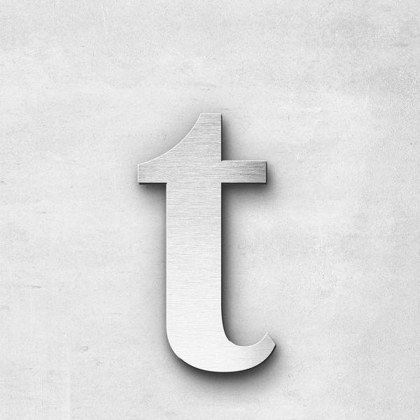 Metal Letter t Lowercase - Serif Series