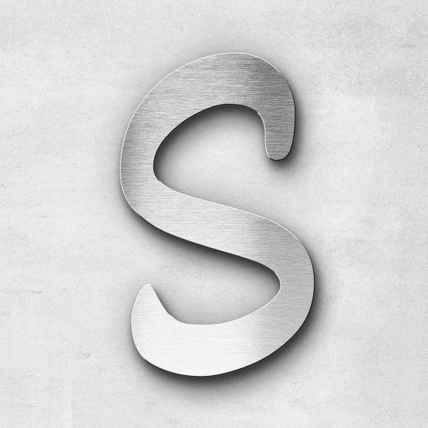 Metal Letter S Uppercase - Malta Series