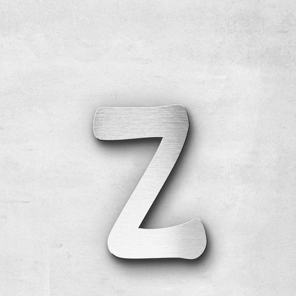 Metal Letter z Lowercase - Malta Series