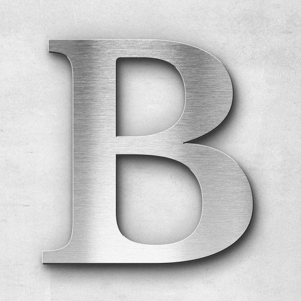 Metal Letter B Uppercase - Serif Series