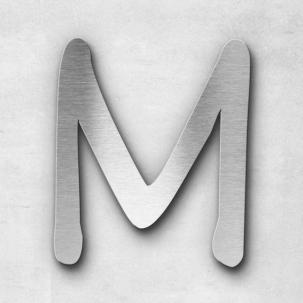 Metal Letter M Uppercase - Malta Series