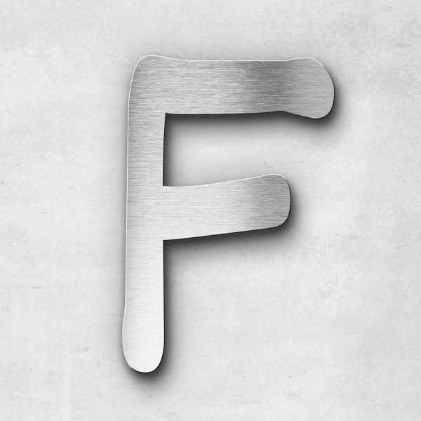 Metal Letter F Uppercase - Malta Series