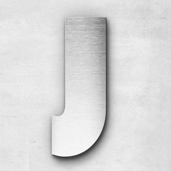 Metal letter J - Series Bauhaus