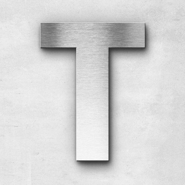 Metal Letter T Uppercase - Sans Series