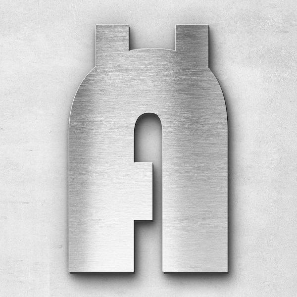 Metal letter Ä - Series Bauhaus