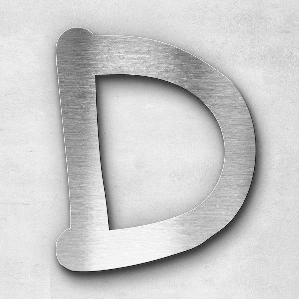Metal letter D - Series Malta