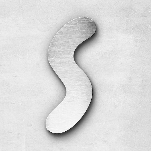 Metal Letter S Uppercase - Darius Series