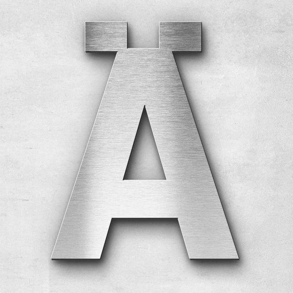 Metal Letter Ä Uppercase - Sans Series