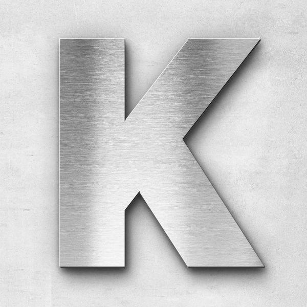 Metal Letter K Uppercase - Kontrast Series