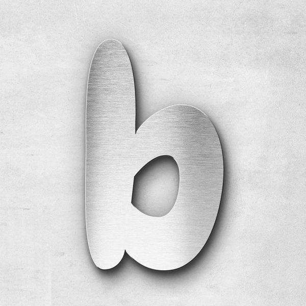 Metal Letter b Lowercase - Darius Series