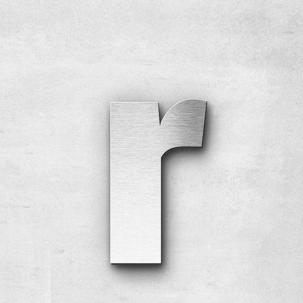 Metal Letter r Lowercase - Sans Series