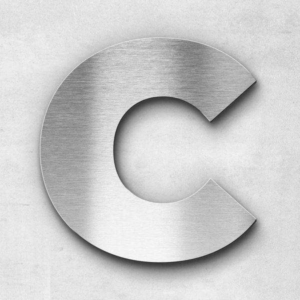 Metal Letter C Uppercase - Kontrast Series