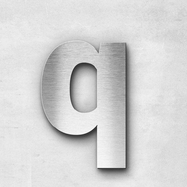 Metal Letter q Lowercase - Sans Series