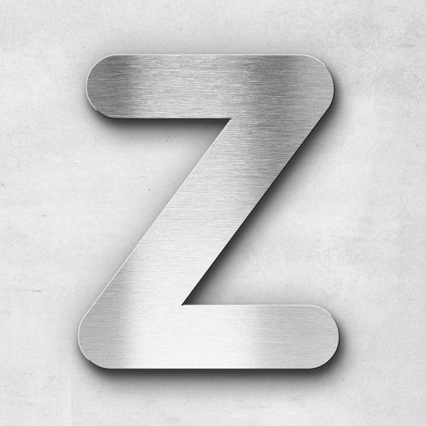 Metal Letter Z Uppercase - Classic Series