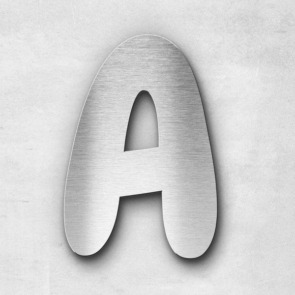 Metal Letter A Uppercase - Darius Series