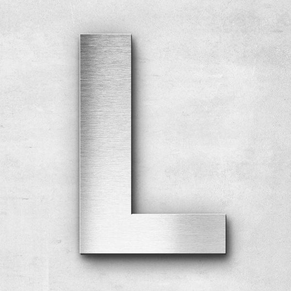 Metal Letter L Uppercase - Sans Series