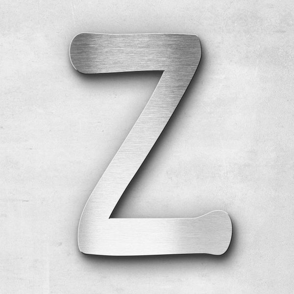 Metal Letter Z Uppercase - Malta Series