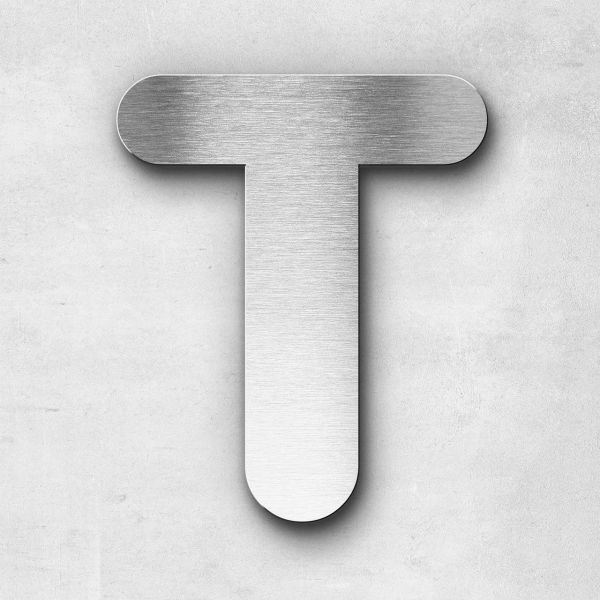 Metal Letter T Uppercase - Classic Series