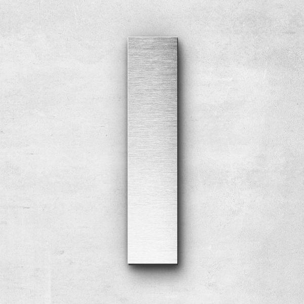 Metal Letter l Lowercase - Sans Series