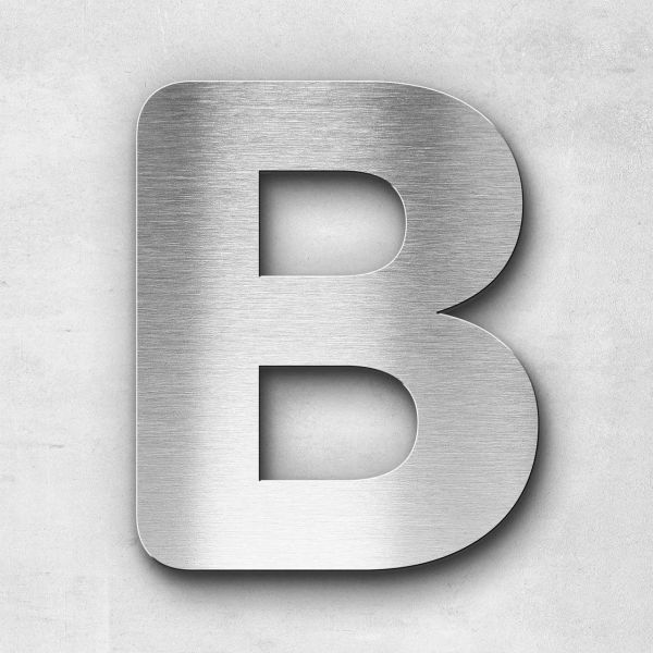 Metal Letter B Uppercase - Classic Series