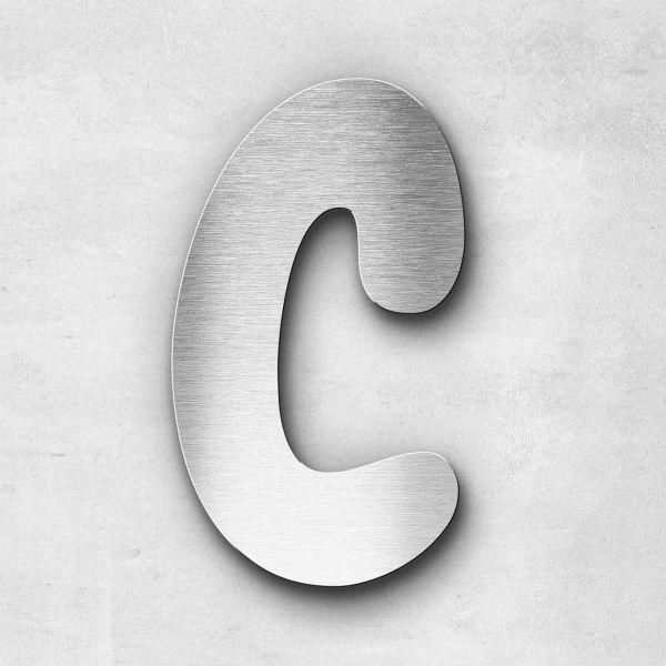 Metal Letter C Uppercase - Darius Series