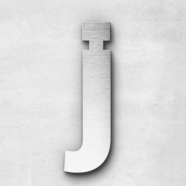 Metal Letter j Lowercase - Sans Series