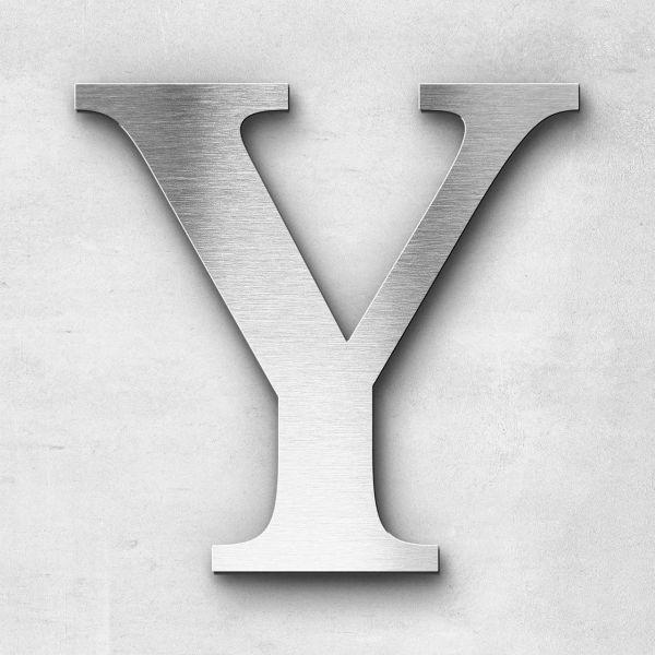 Metal Letter Y Uppercase - Serif Series