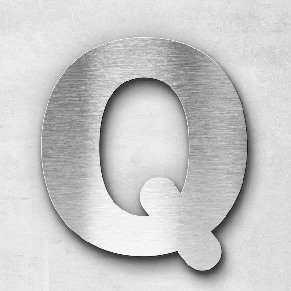 Metal Letter Q Uppercase - Classic Series