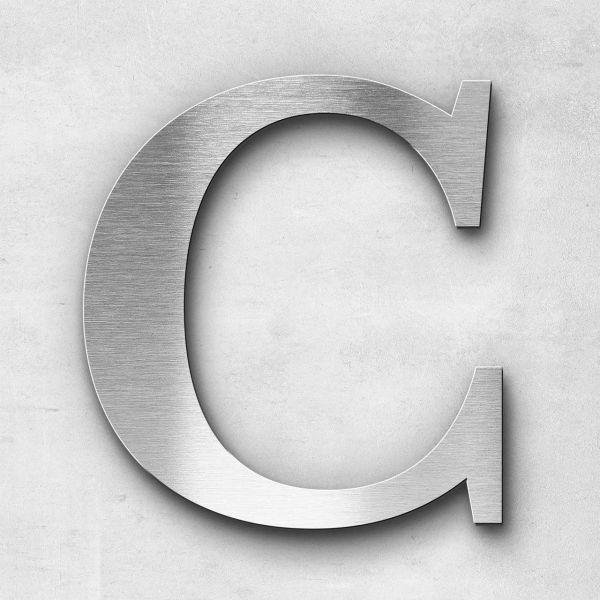 Metal Letter C Uppercase - Serif Series