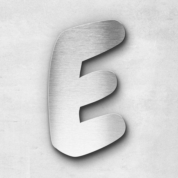 Metal Letter E Uppercase - Darius Series