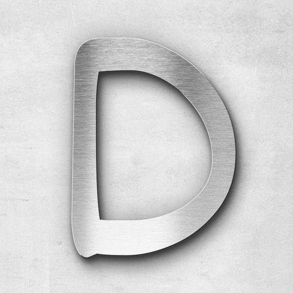 Metal Letter D Uppercase - Malta Series